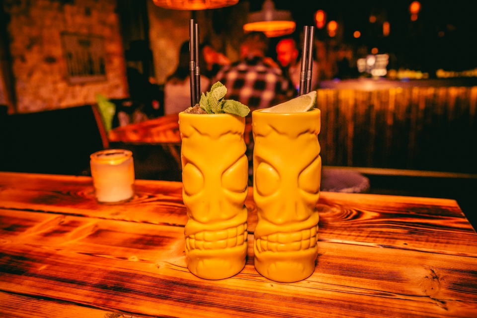 The Drunken Flamingo – Tiki Zombie Mojito